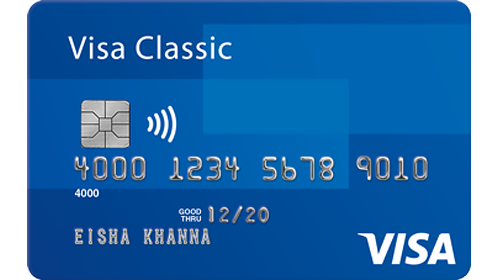bank of india debit card visa verification number